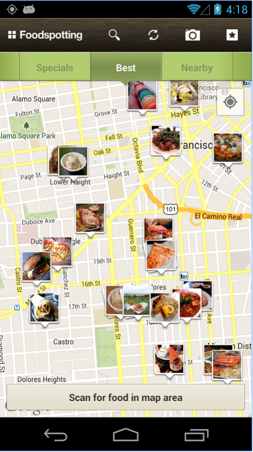 find the best food with foodspotting